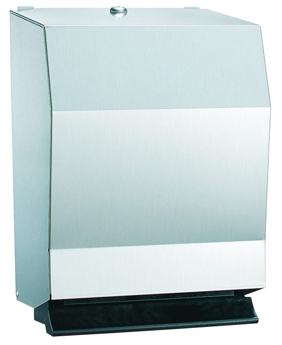 Bradley Tumbler Lock Towel Dispenser 2482-11 | Accurate Door & Hardware, Inc.