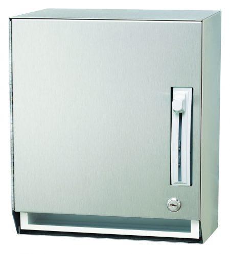 Tumbler Lock Towel Dispenser 2483 | Accurate Door & Hardware, Inc