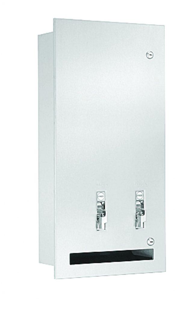 Bradley Stainless Steel Vendor 4017-1015 | Accurate Door & Hardware, Inc.
