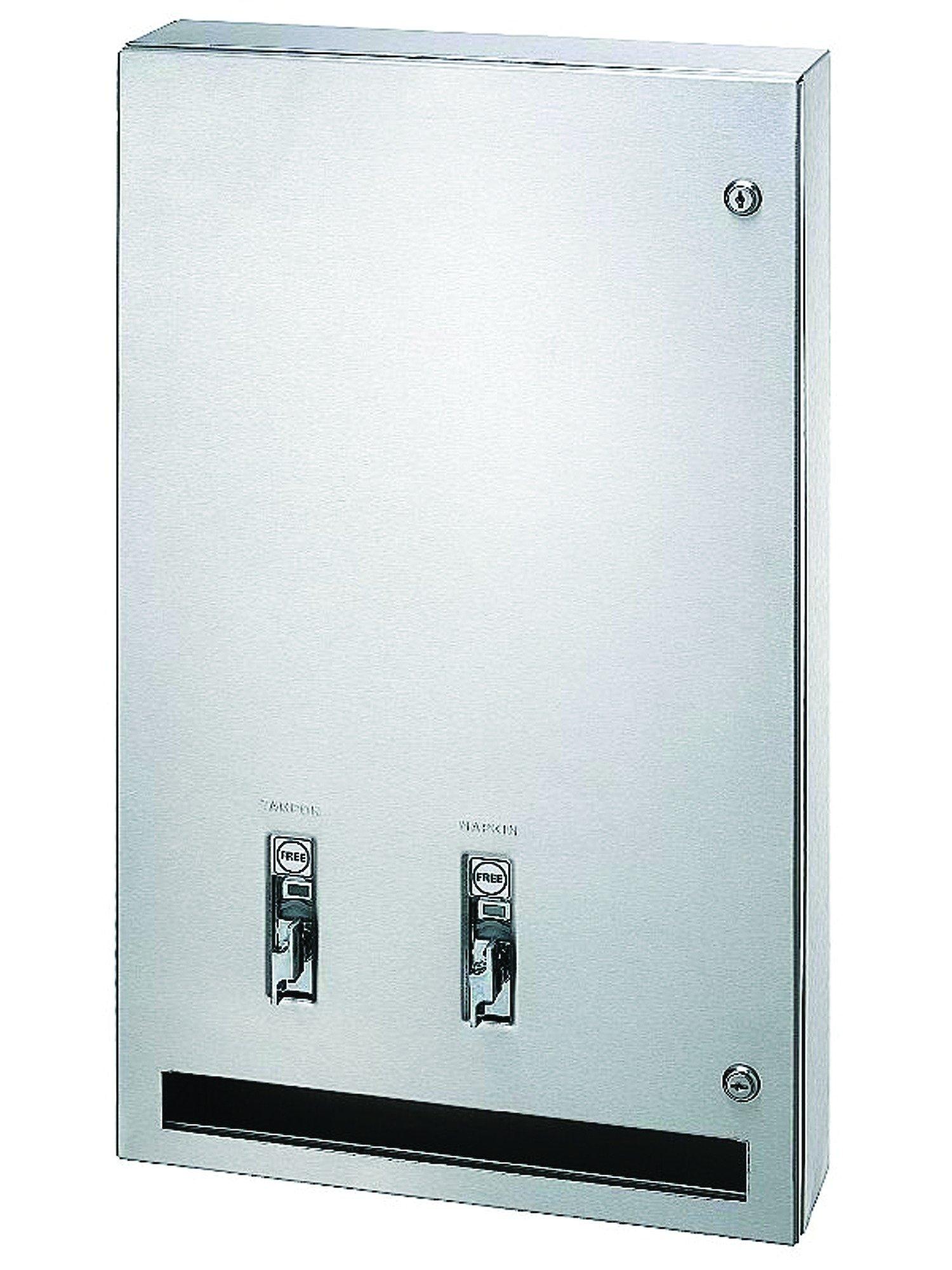 Bradley Napkin Tampon Vendor 407 | Accurate Door & Hardware, Inc.