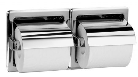 Recessed Double Roll Toilet Paper Dispenser 5123 | Accurate Door & Hardware