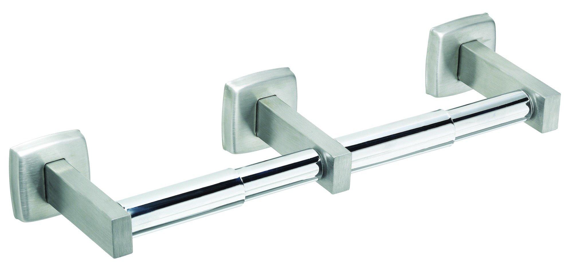 Stainless Steel Double Roll Toilet Tissue Dispenser 5234-52