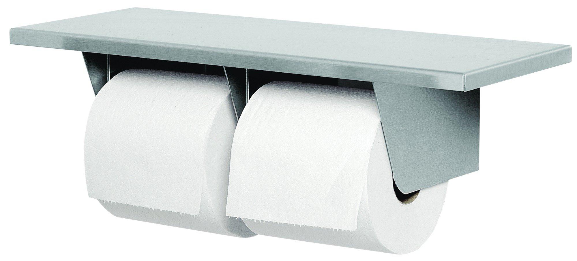 Dual Roll Toilet Paper Dispenser With Shelf 5263 | Accurate Door & Hardware