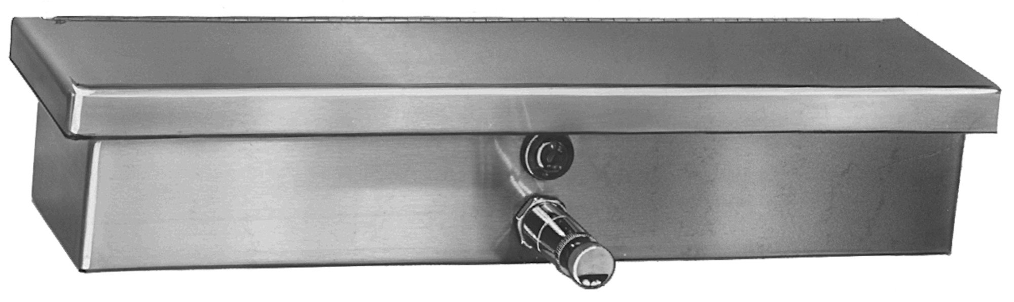 Bradley Manual Soap Dispenser With Shelf 661 | Accurate Door & Hardware