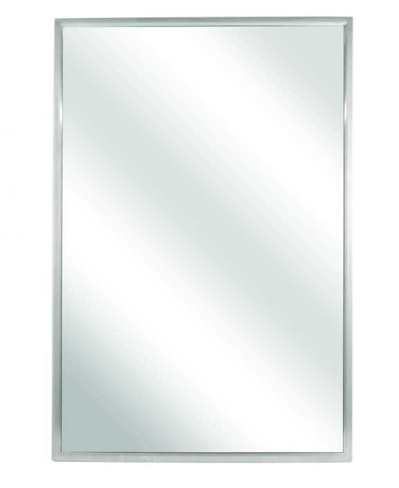 Commercial Wall Mirror 740 | Accurate Door & Hardware, Inc.