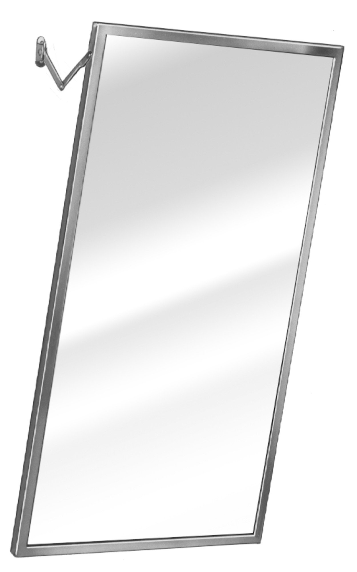 Adjustable Tilt Mirror 782 | Accurate Door & Hardware, Inc.