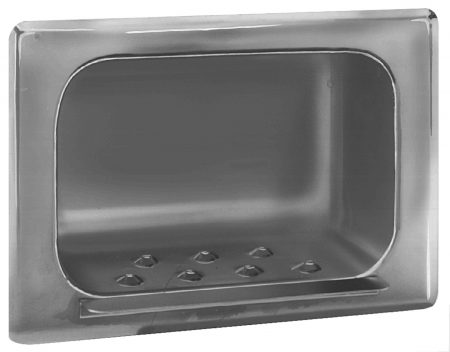 Security Recessed Soap Dish | Accurate Door & Hardware, Inc.