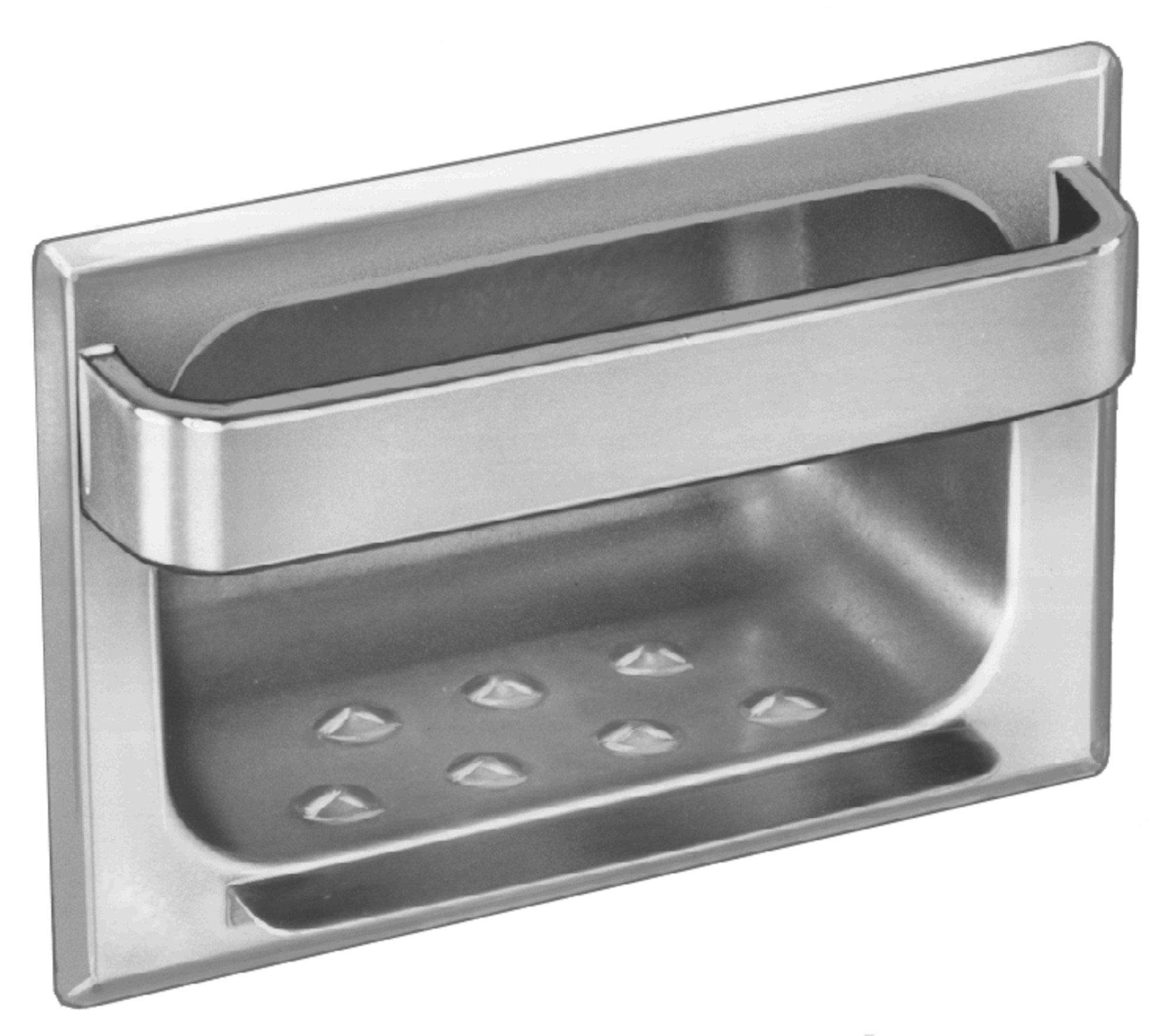 Recessed Soap Dish 9402 | Accurate Door & Hardware, Inc.