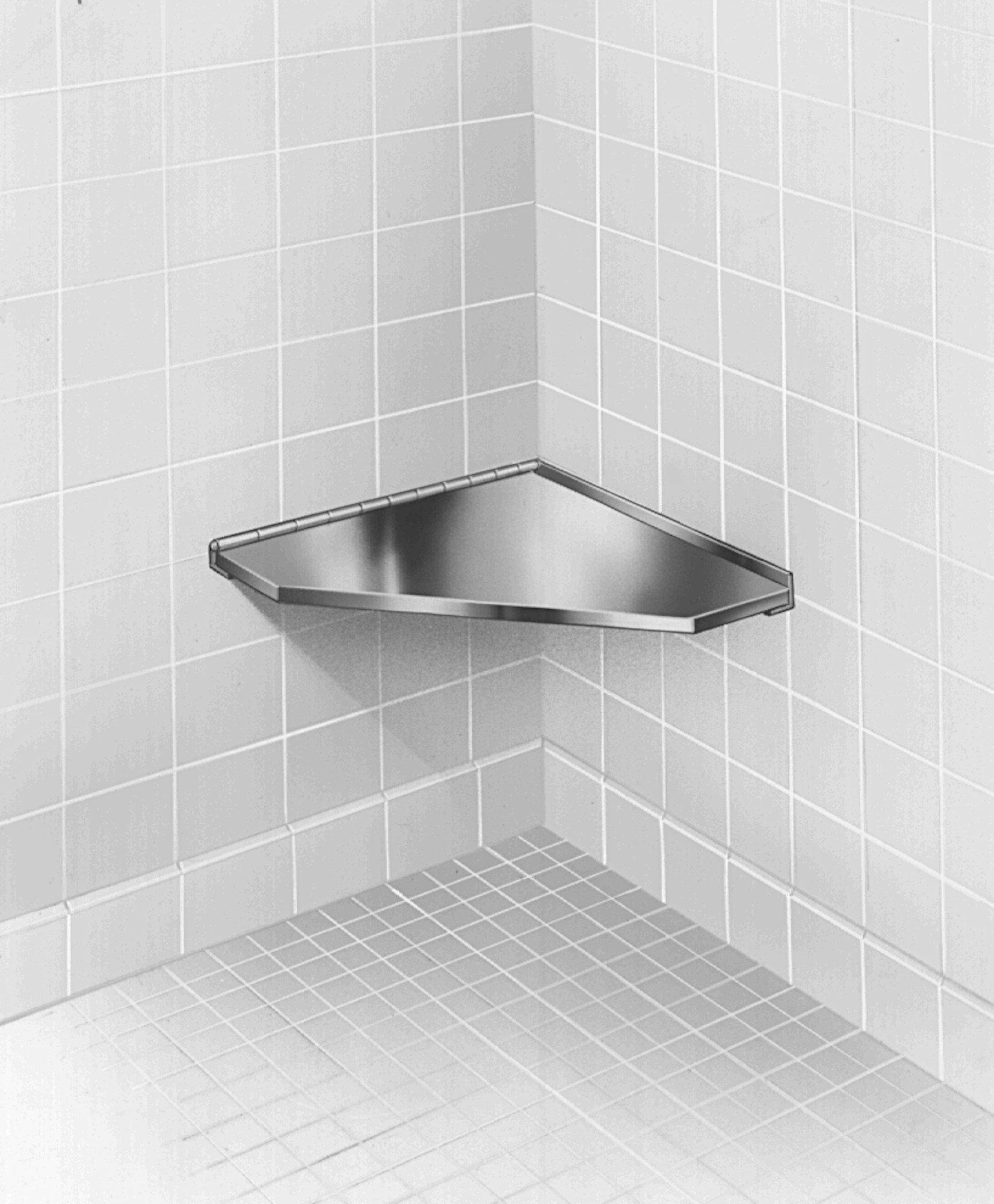 Corner Shower Seat 954-000000 | Accurate Door & Hardware, Inc