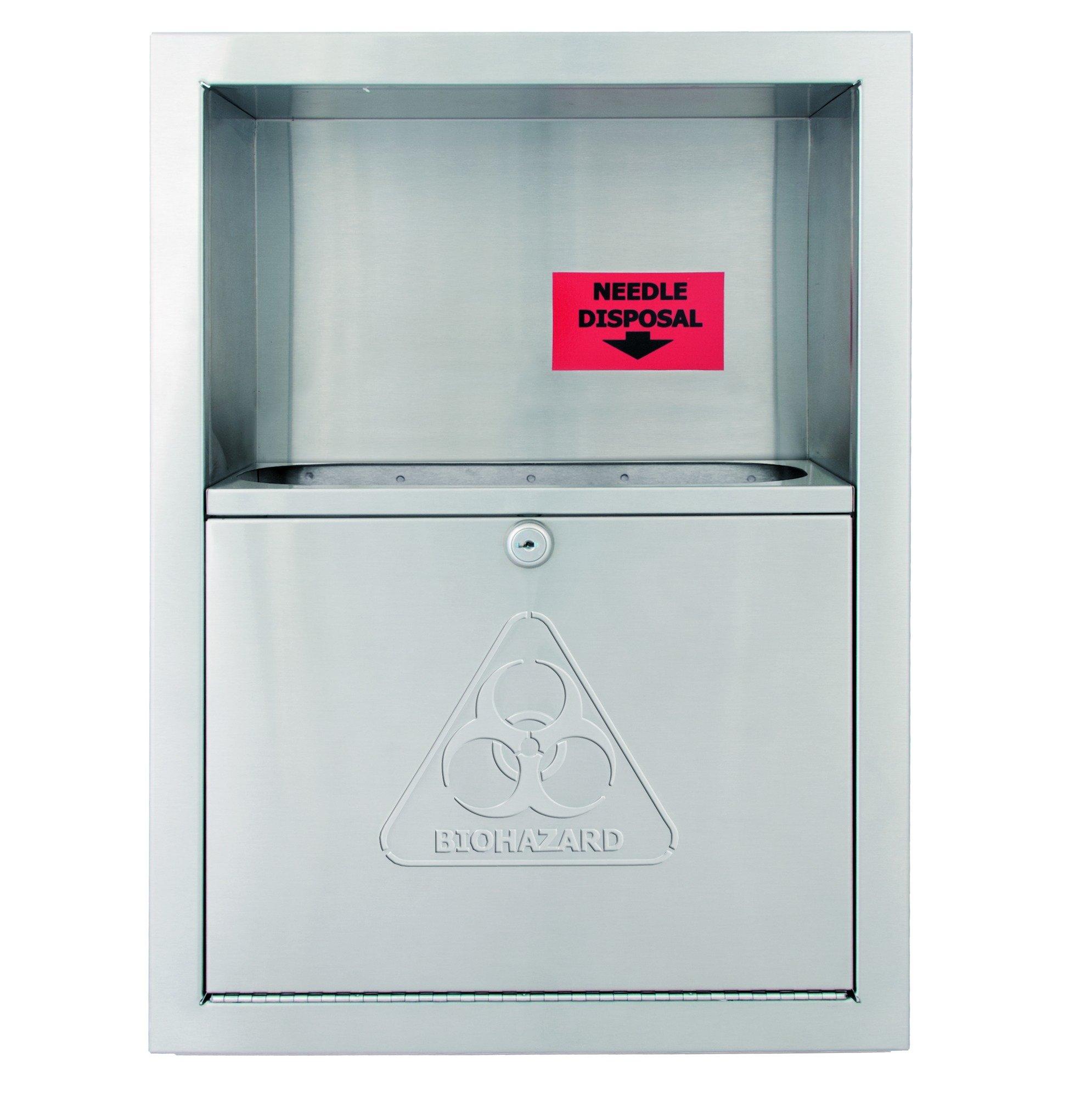 Needle Disposals 989-000000 - Accurate Door & Hardware, Inc