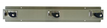 Mop and Broom Holder Wall Mount 9953 | Accurate Door & Hardware, Inc.